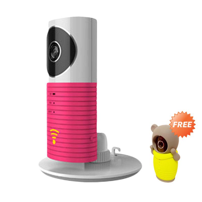 harga Cleverdog Dog-1w Wifi Kamera CCTV - Pink + Free Cloth Cleverdog Blibli.com