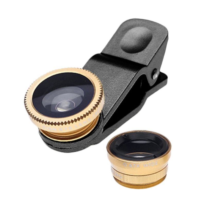 Clip Lens Gold Superwide Lens [0.4x Universal]