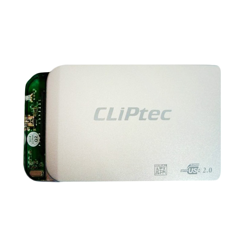 Cliptec External Casing for Hard Disk 2.5 Inch Sata 2.0 - Silver