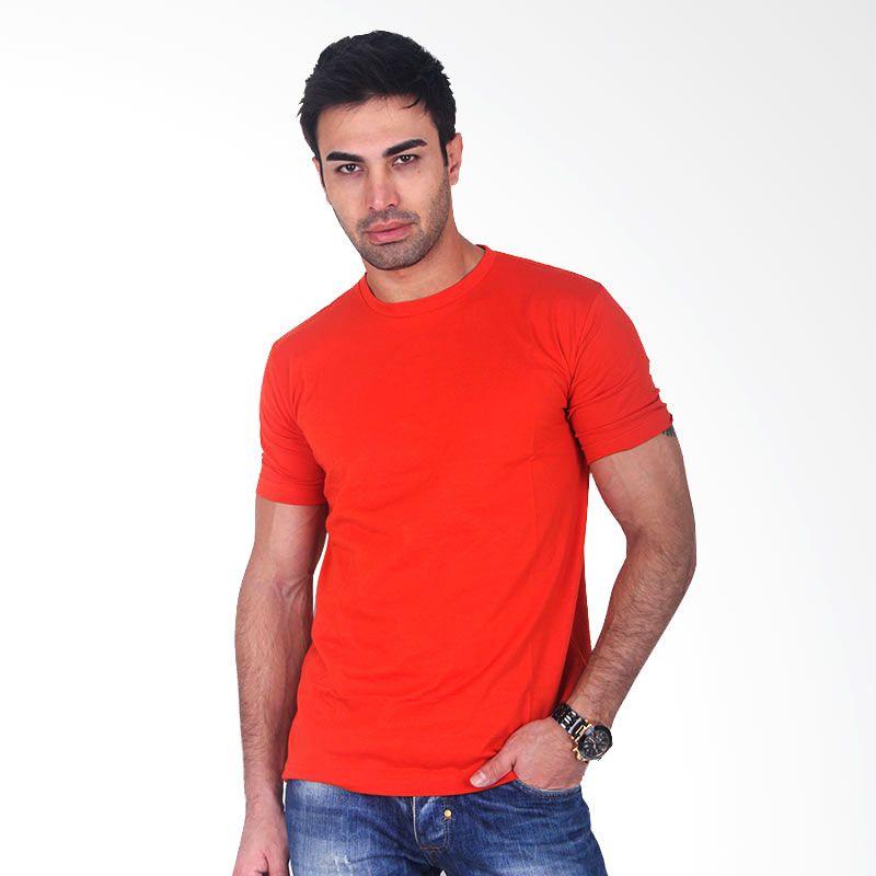 Clothmakers Premium Cotton Circle Tees Tango Orange