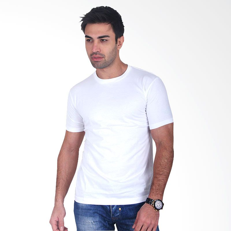 Clothmakers Premium Cotton Circle Tees White