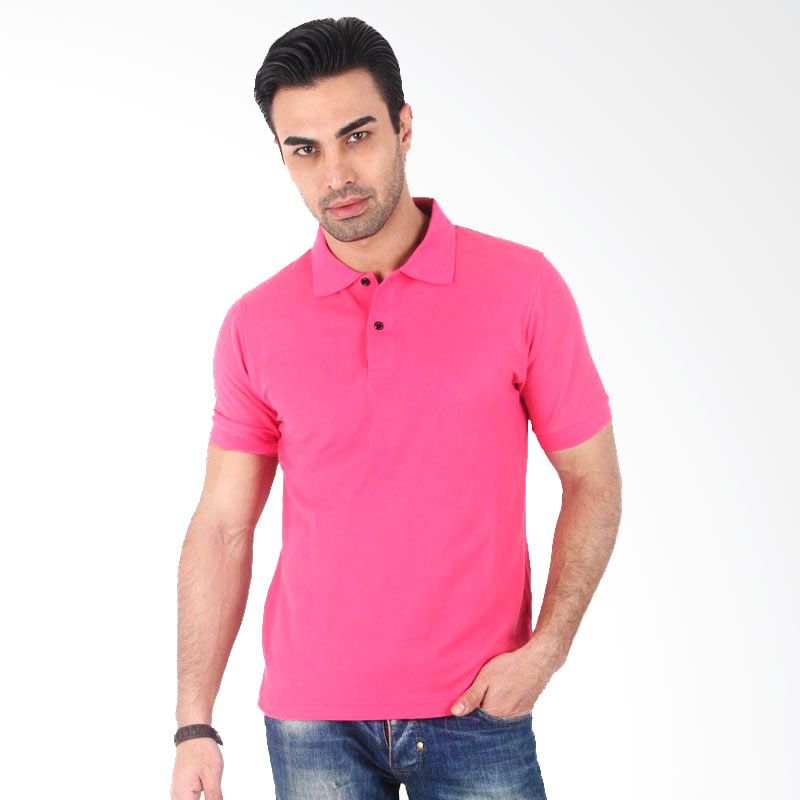 Clothmakers Fitt Polo Bright Pink