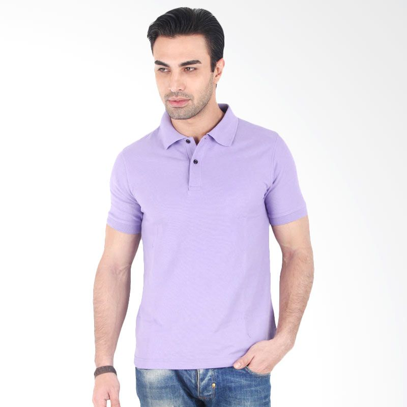 Clothmakers Fitt Polo Light Purple