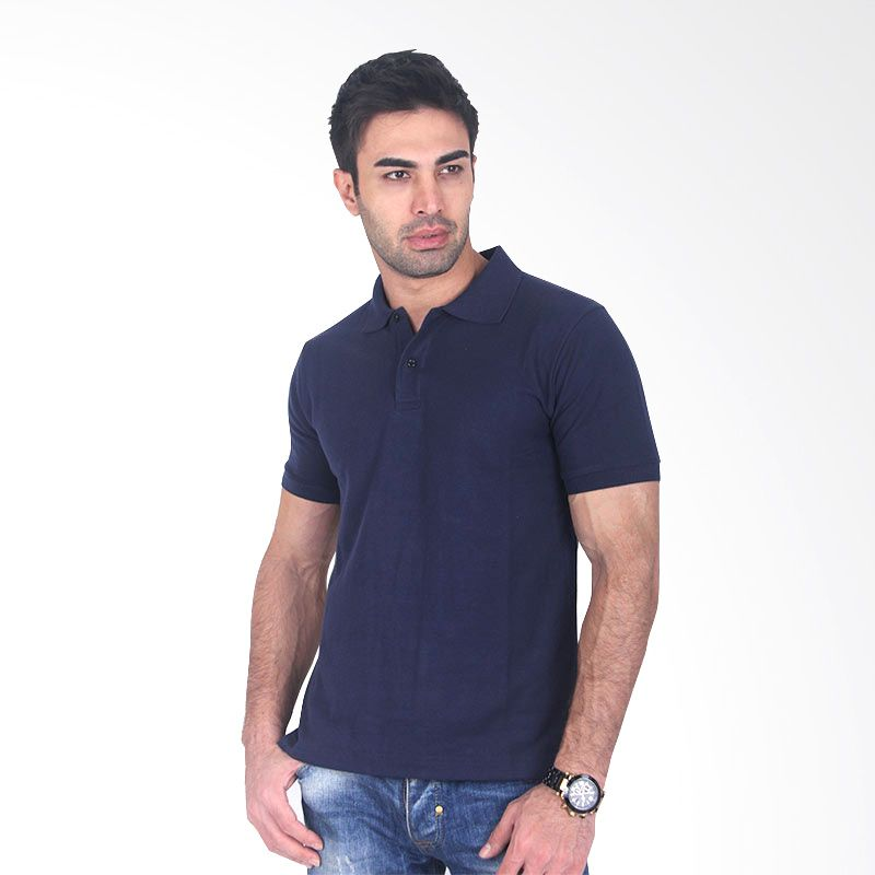 Clothmakers Fitt Polo Navy Blue