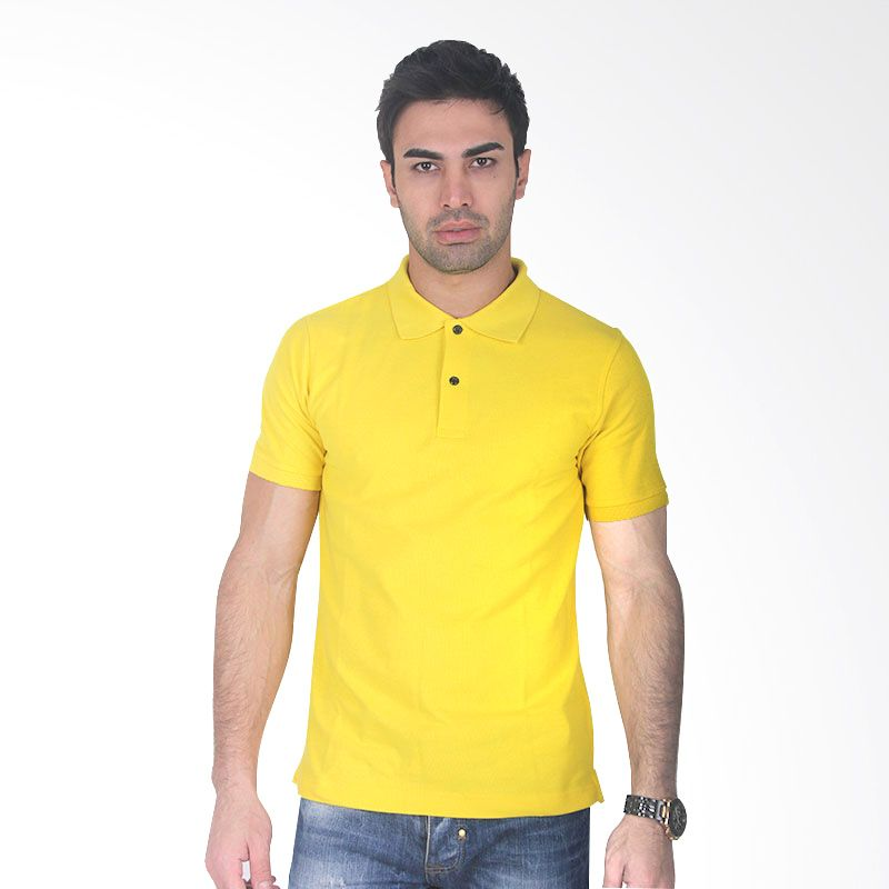 Clothmakers Fitt Polo Yellow