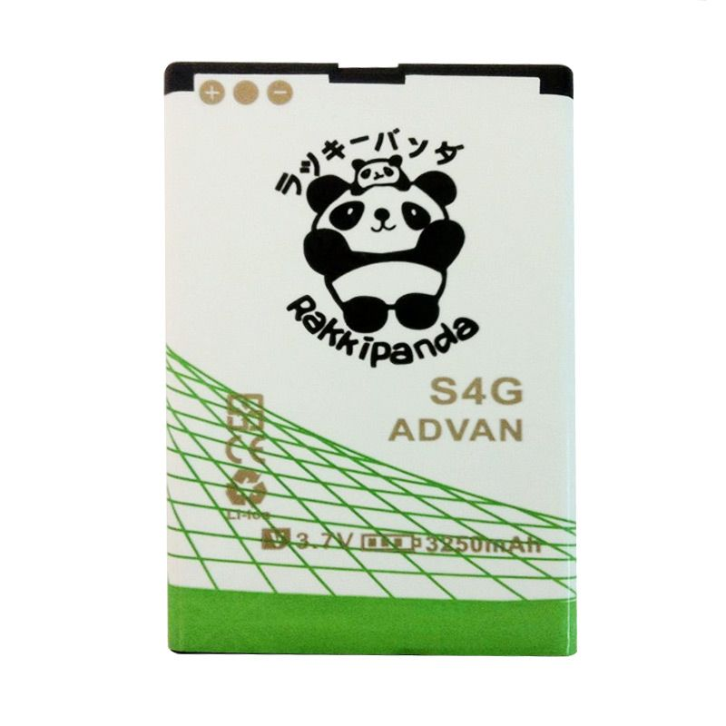 BATTERY BATERAI DOUBLE POWER DOUBLE IC RAKKIPANDA ADVAN S4G 3250mAh