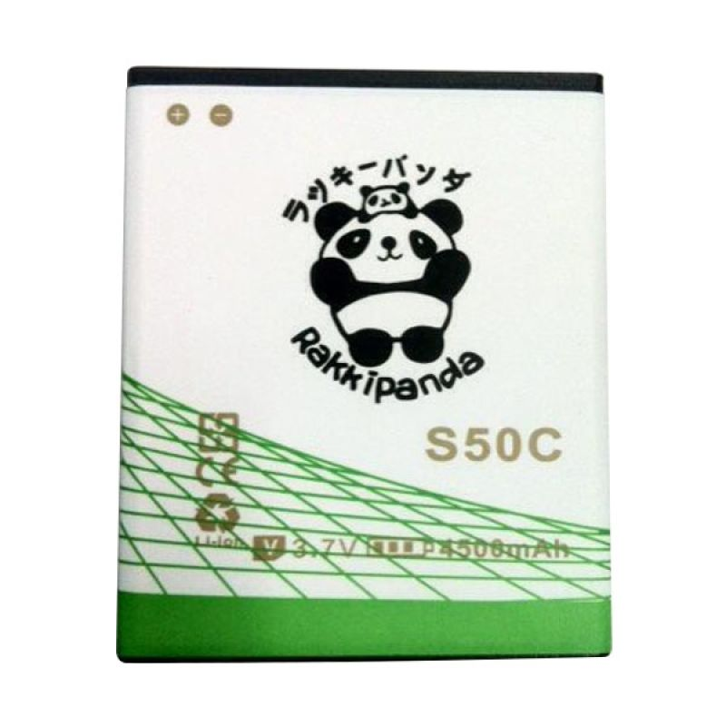 BATTERY BATERAI DOUBLE POWER DOUBLE IC RAKKIPANDA ADVAN S50C 4500mAh