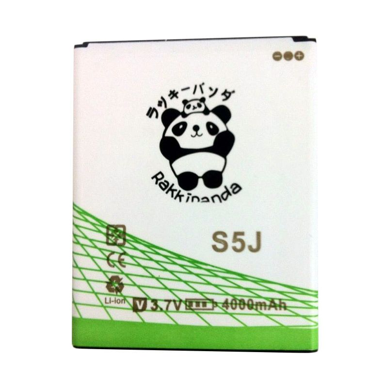 BATTERY BATERAI DOUBLE POWER DOUBLE IC RAKKIPANDA ADVAN S5J 4000mAh
