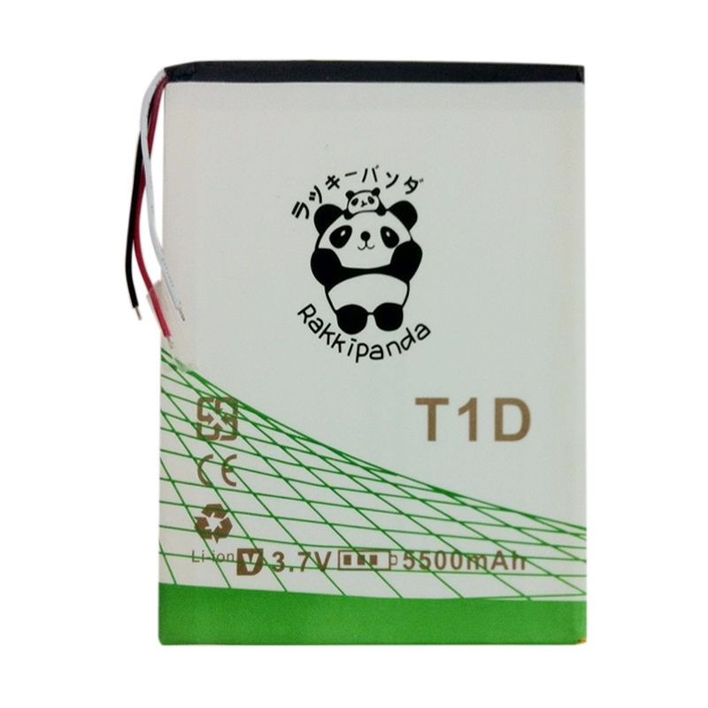 BATTERY BATERAI DOUBLE POWER DOUBLE IC RAKKIPANDA ADVAN TAB T1D 5500mAh