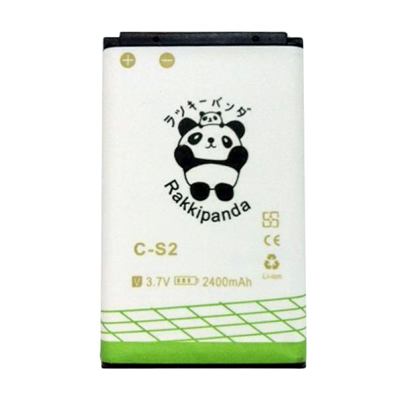 BATTERY BATERAI DOUBLE POWER DOUBLE IC RAKKIPANDA BLACKBERRY GEMINI 8520/ 8530/ 9300/ 9330 (CS-2) 2400mAh