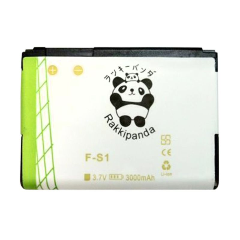 BATTERY BATERAI DOUBLE POWER DOUBLE IC RAKKIPANDA BLACKBERRY TORCH 9800/ 9810 (FS-1) 3000mAh