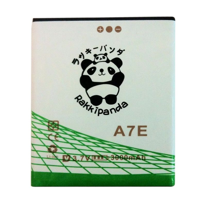 BATTERY BATERAI DOUBLE POWER DOUBLE IC RAKKIPANDA EVERCOSS CROSS A7E 3000mAh