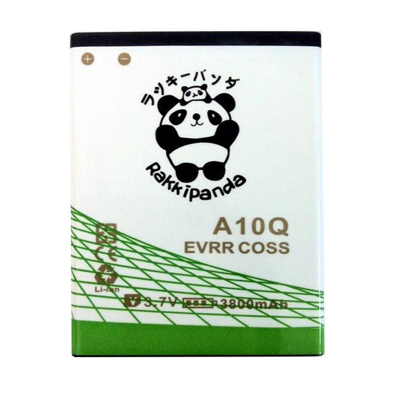 BATTERY BATERAI DOUBLE POWER DOUBLE IC RAKKIPANDA EVERCOSS CROSS A10Q 3800mAh