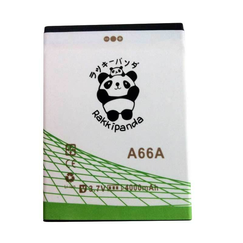 BATTERY BATERAI DOUBLE POWER DOUBLE IC RAKKIPANDA EVERCOSS CROSS A66A 4000mAh