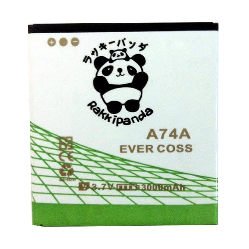 harga BATTERY BATERAI DOUBLE POWER DOUBLE IC RAKKIPANDA EVERCOSS CROSS A74A/ A74D/ A74C 3000mAh Blibli.com