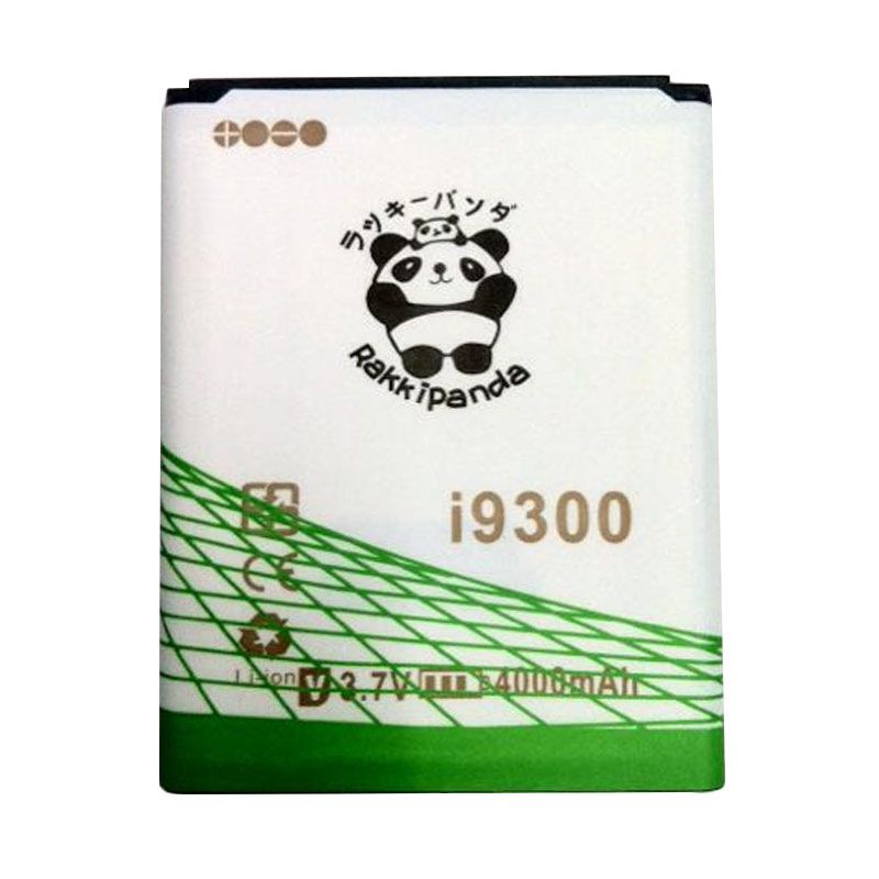 BATERAI BATTERY DOUBLE POWER DOUBLE IC RAKKIPANDA SAMSUNG i9300 GALAXY S3/ GRAND i9082 4000mAh