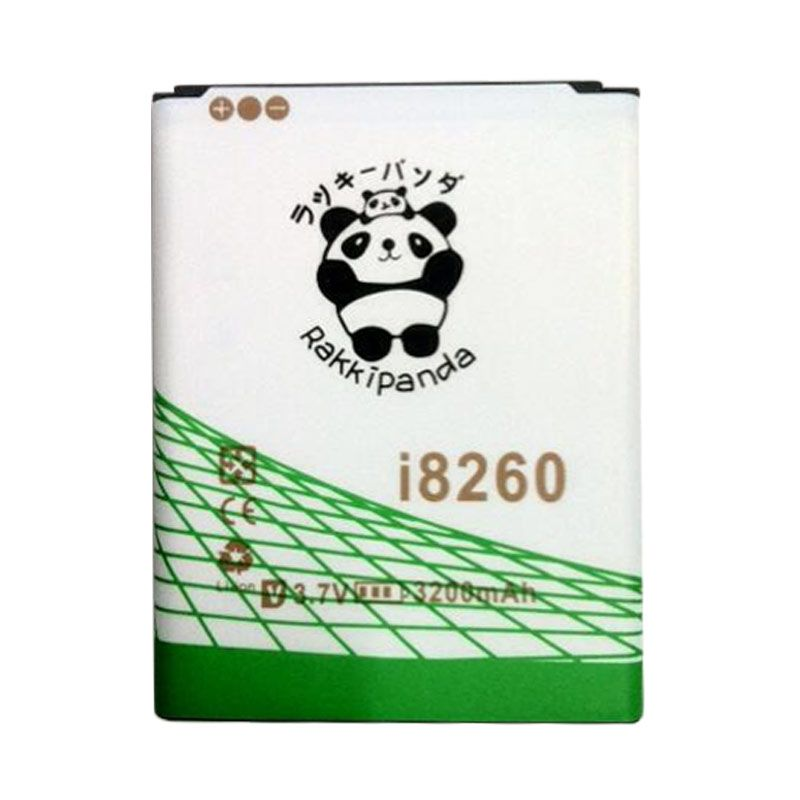 BATERAI BATTERY DOUBLE POWER DOUBLE IC RAKKIPANDA SAMSUNG i8260 CORE 3200mAh