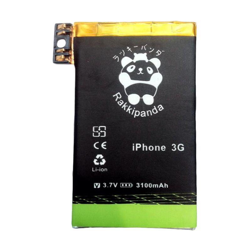 BATTERY BATERAI DOUBLE POWER DOUBLE IC RAKKIPANDA IPHONE 3G 3100mAh