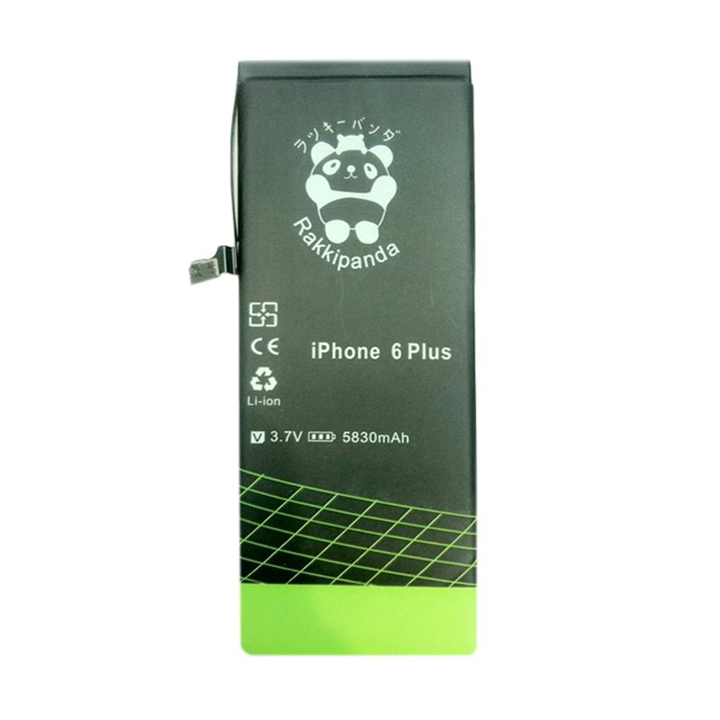 BATTERY BATERAI DOUBLE POWER DOUBLE IC RAKKIPANDA IPHONE 6 PLUS 5830mAh
