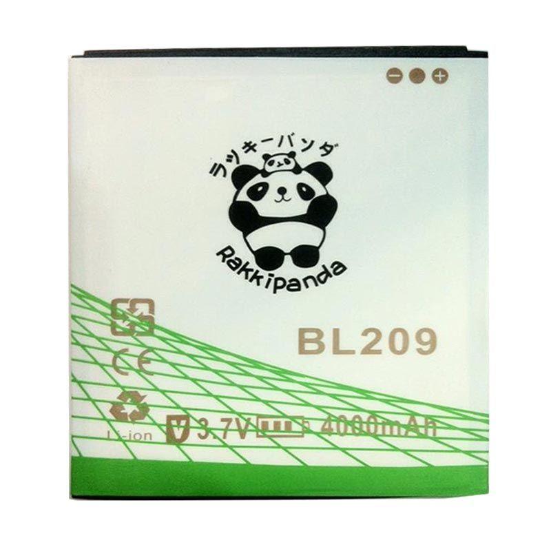 BATTERY BATERAI DOUBLE POWER DOUBLE IC RAKKIPANDA BL209 LENOVO A516/ A706 4000mAh