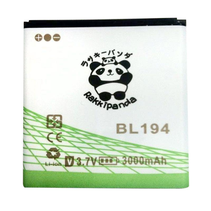 BATTERY BATERAI DOUBLE POWER DOUBLE IC RAKKIPANDA BL194 LENOVO A690 3000mAh