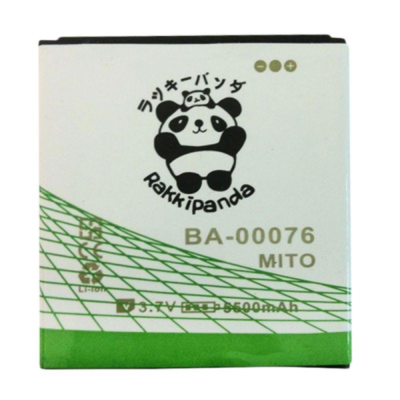 BATTERY BATERAI DOUBLE POWER DOUBLE IC RAKKIPANDA MITO A60 (BA-00076) 5500mAh