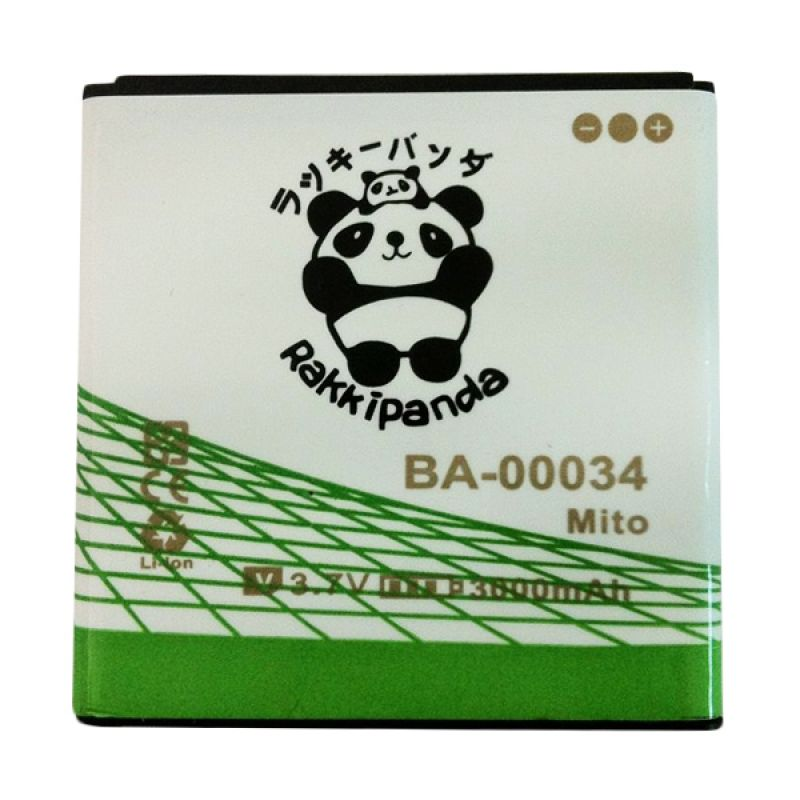 BATTERY BATERAI DOUBLE POWER DOUBLE IC RAKKIPANDA MITO A78 (BA-00034) 3000mAh