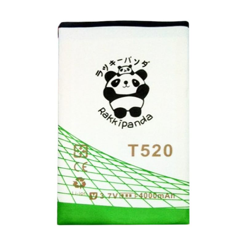 BATTERY BATERAI DOUBLE POWER DOUBLE IC RAKKIPANDA MITO TAB T520 4000mAh