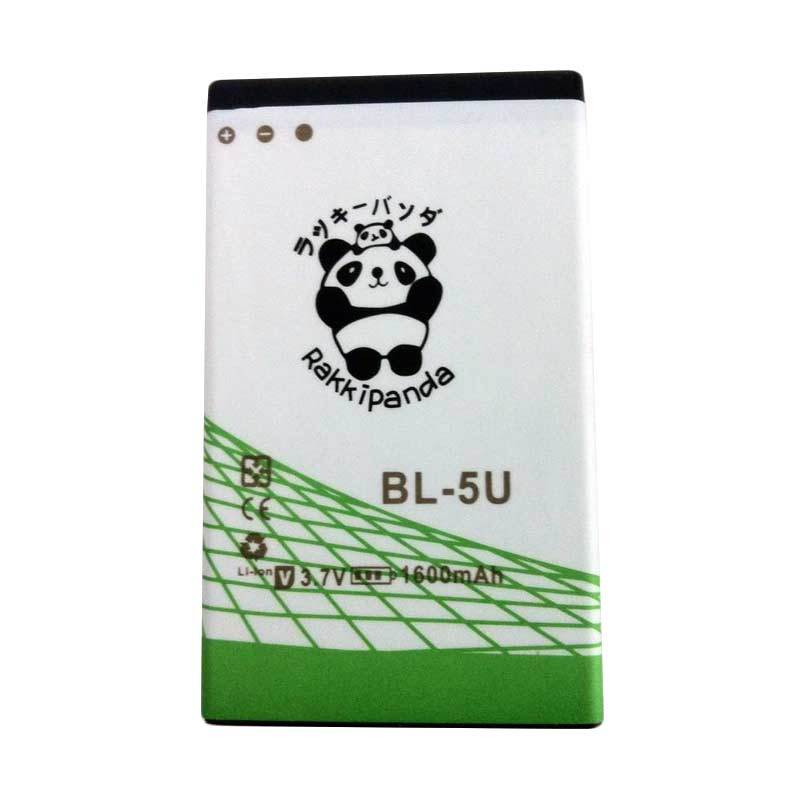 BATTERY BATERAI DOUBLE POWER DOUBLE IC RAKKIPANDA NOKIA BL-5U 1600mAh