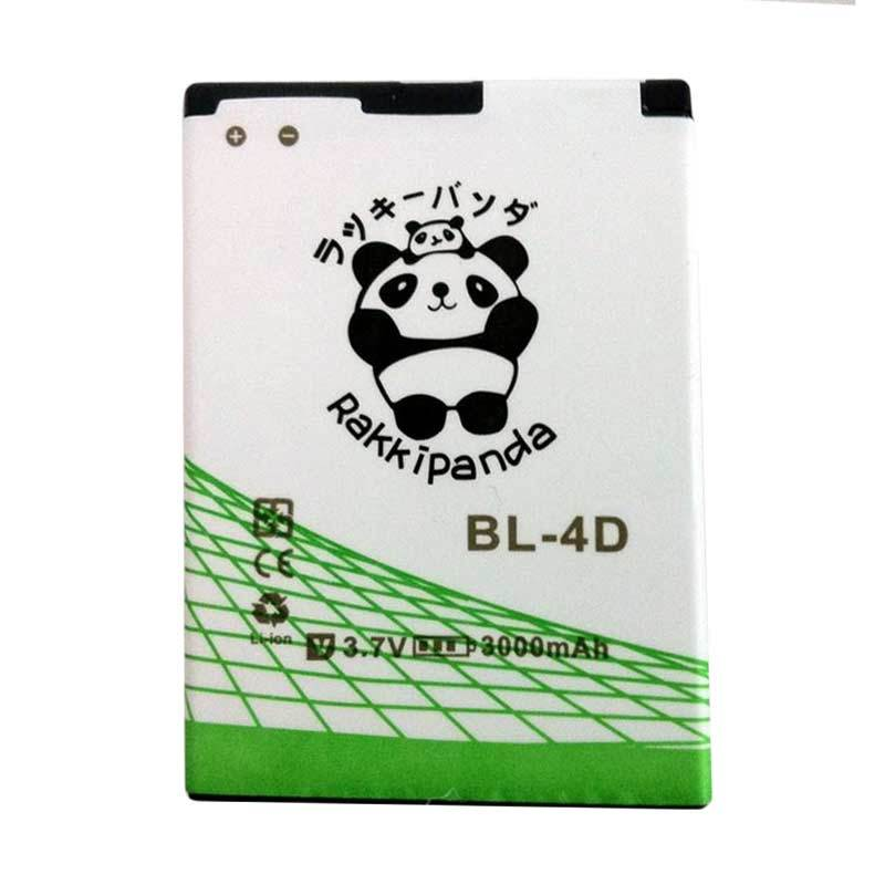 BATTERY BATERAI DOUBLE POWER DOUBLE IC RAKKIPANDA NOKIA BL-4D 3000mAh
