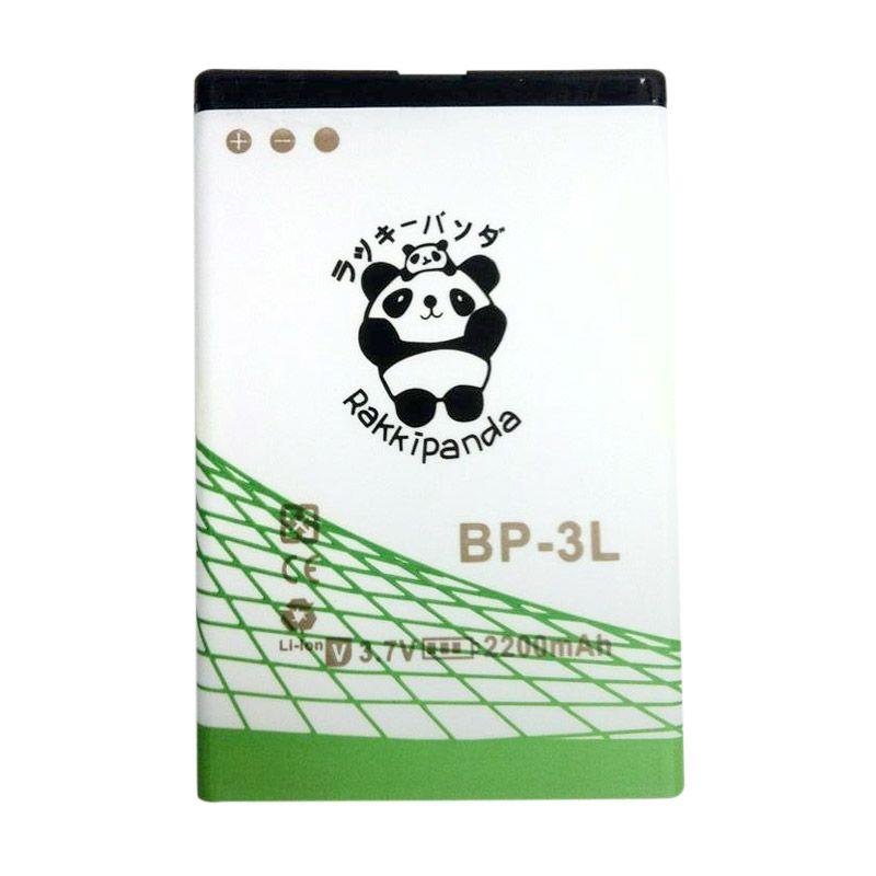BATTERY BATERAI DOUBLE POWER DOUBLE IC RAKKIPANDA NOKIA BP-3L 2200mAh