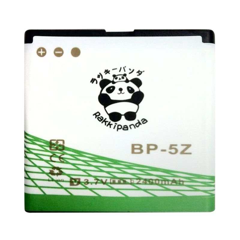 BATTERY BATERAI DOUBLE POWER DOUBLE IC RAKKIPANDA NOKIA BP-5Z 2400mAh