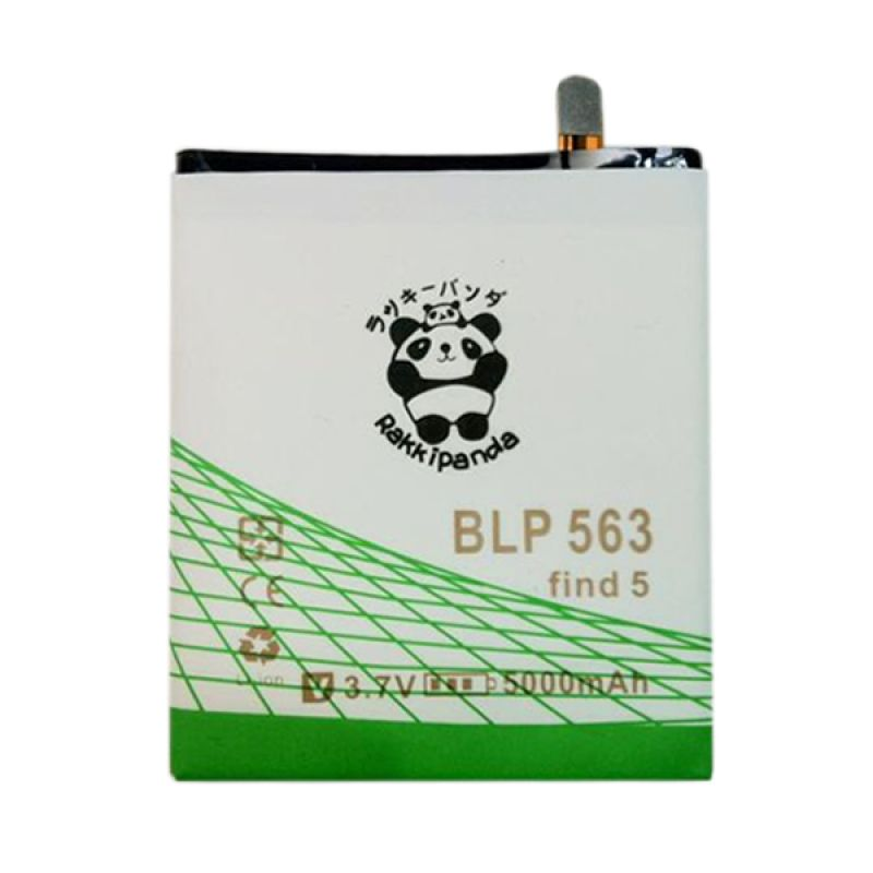 BATTERY BATERAI DOUBLE POWER DOUBLE IC RAKKIPANDA OPPO FIND 5 MINI (BLP-563) 5500mAh