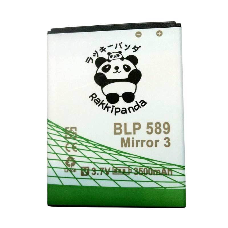 BATTERY BATERAI DOUBLE POWER DOUBLE IC RAKKIPANDA OPPO JOY 3 / MIRROR 3 (BLP589) 3500mAh