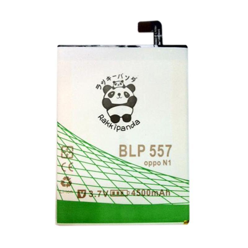 BATTERY BATERAI DOUBLE POWER DOUBLE IC RAKKIPANDA OPPO N1 (BLP-557) 4500mAh