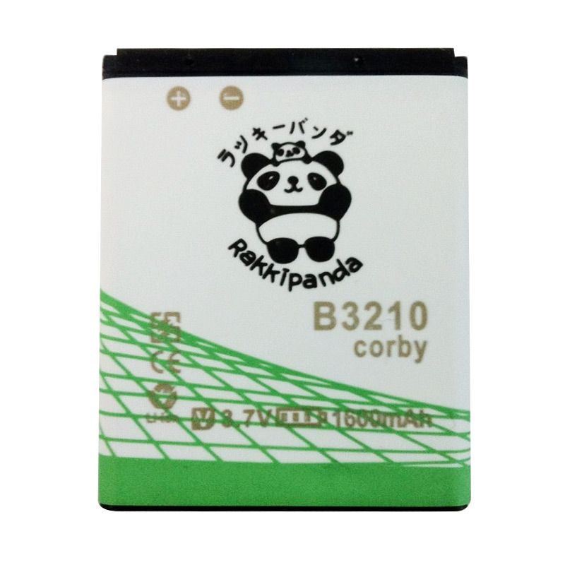 BATTERY BATERAI DOUBLE POWER DOUBLE IC RAKKIPANDA SAMSUNG B3210 CORBY TXT 1600mAh