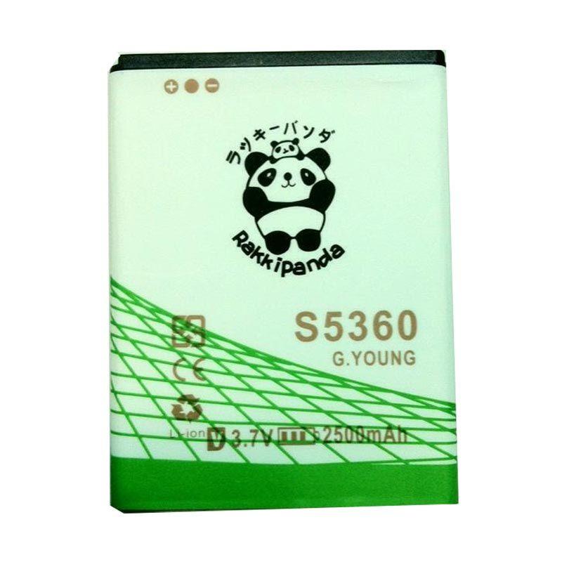 BATERAI BATTERY DOUBLE POWER DOUBLE IC RAKKIPANDA SAMSUNG S5360 GALAXY YOUNG/ GALAXY CHAT B5330/ YOUNG 2 G130H 2500mAh