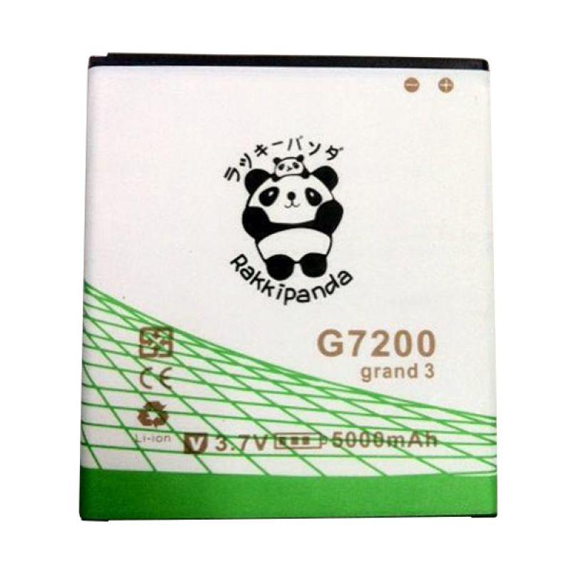 BATTERY BATERAI DOUBLE POWER DOUBLE IC RAKKIPANDA SAMSUNG G7200 GRAND 3 5000mAh