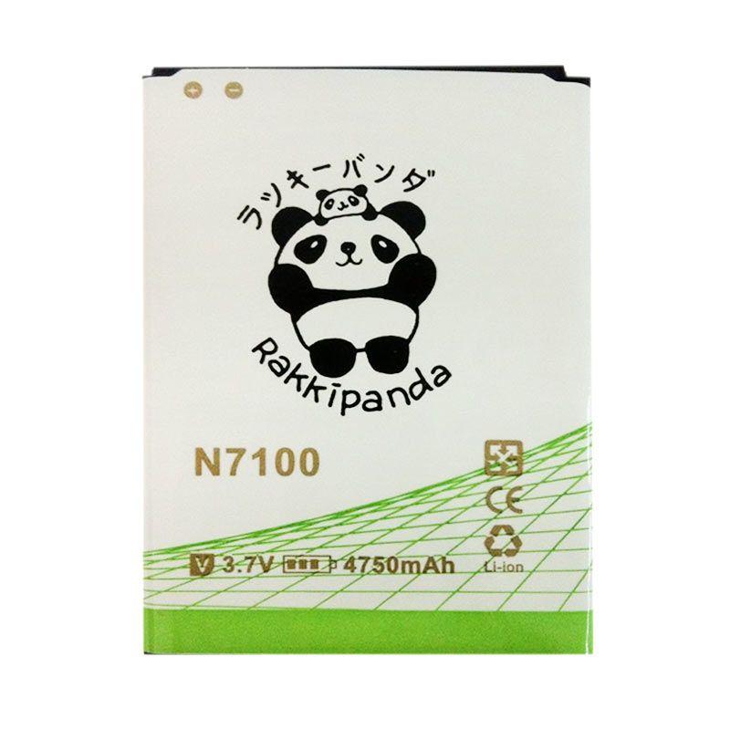 BATTERY BATERAI DOUBLE POWER DOUBLE IC RAKKIPANDA SAMSUNG N7100 NOTE 2 4750mAh