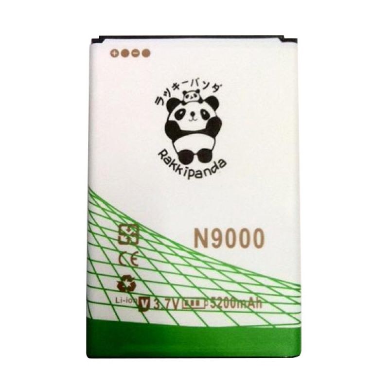 BATERAI BATTERY DOUBLE POWER DOUBLE IC RAKKIPANDA SAMSUNG N9000 NOTE 3 5200mAh