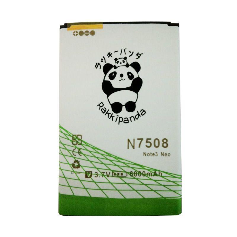 BATTERY BATERAI DOUBLE POWER DOUBLE IC RAKKIPANDA SAMSUNG N7508 NOTE 3 NEO 6000mAh