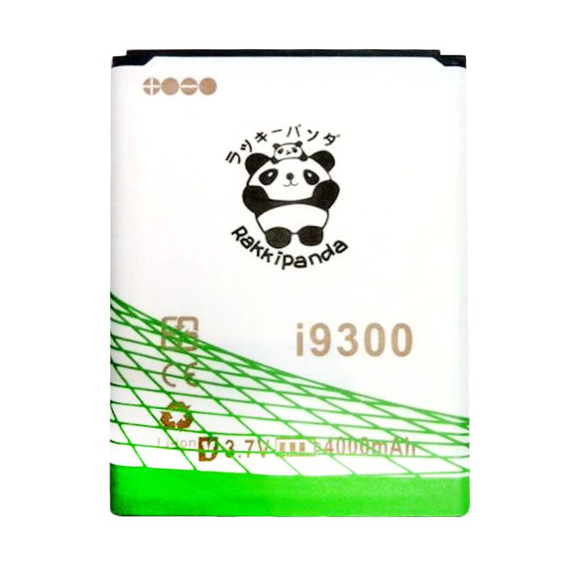 BATERAI BATTERY DOUBLE POWER DOUBLE IC RAKKIPANDA SAMSUNG i9300 S3 SLIM 4000mAh
