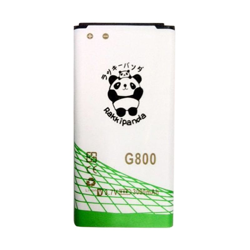 BATERAI BATTERY DOUBLE POWER DOUBLE IC RAKKIPANDA SAMSUNG G800 S5 MINI 3000mAh