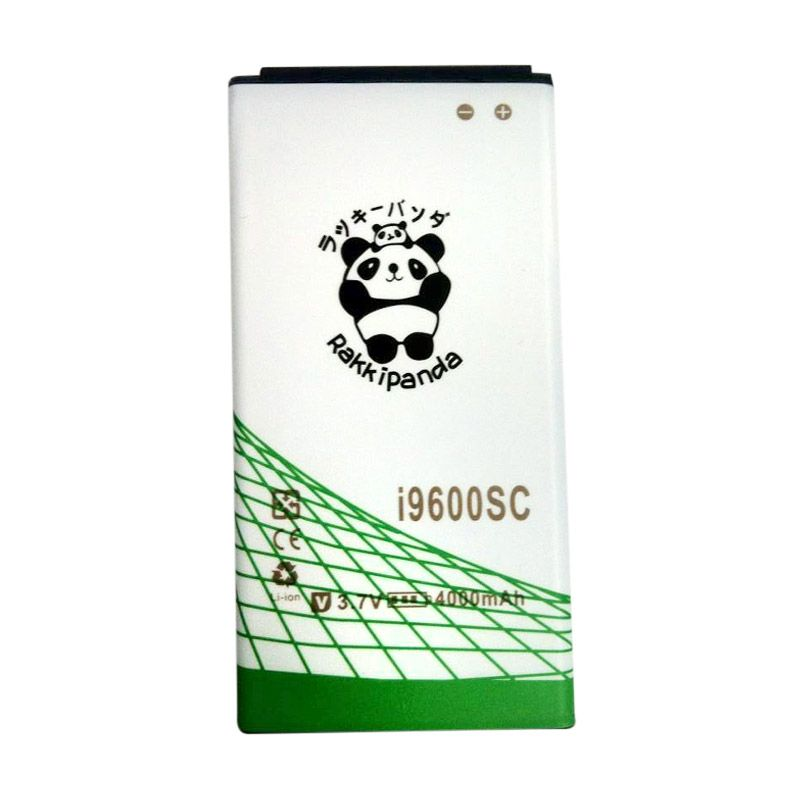 BATTERY BATERAI DOUBLE POWER DOUBLE IC RAKKIPANDA SAMSUNG i9600SC S5 SLIM 4000mAh