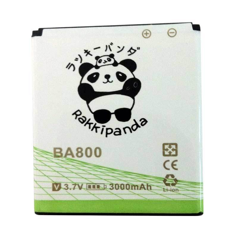BATTERY BATERAI DOUBLE POWER DOUBLE IC RAKKIPANDA SONY BA800 XPERIA S 3000mAh
