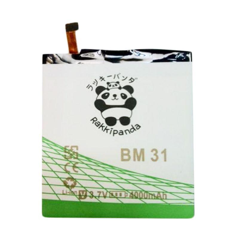 BATTERY BATERAI DOUBLE POWER DOUBLE IC RAKKIPANDA BM31 XIAOMI MI 3 4000mAh