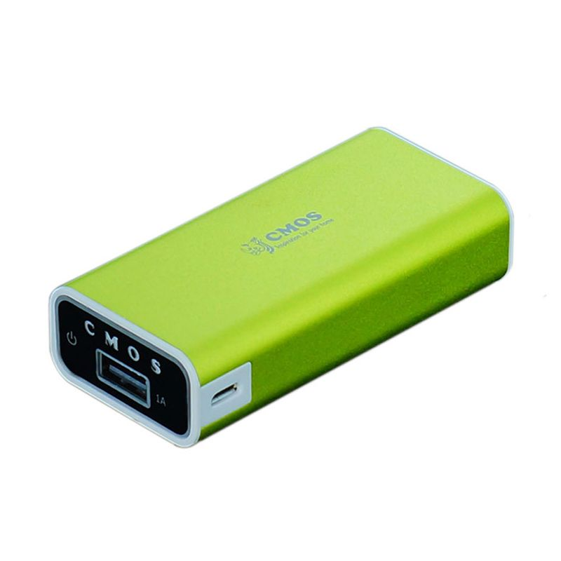 Cmos A16W 5200 mAh Hijau Power Bank