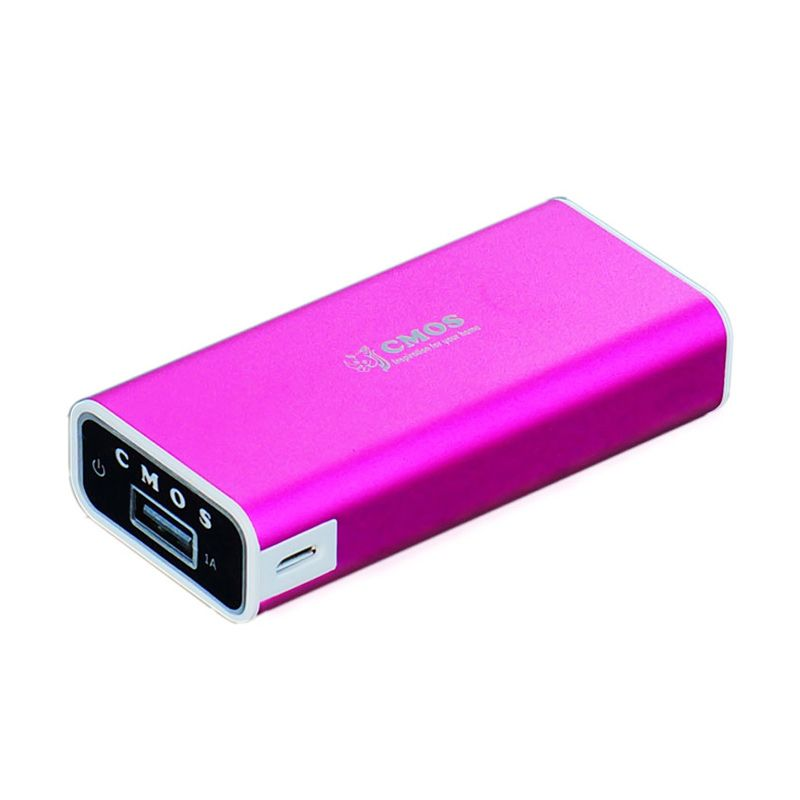Cmos A16W 5200 mAh Pink Power Bank