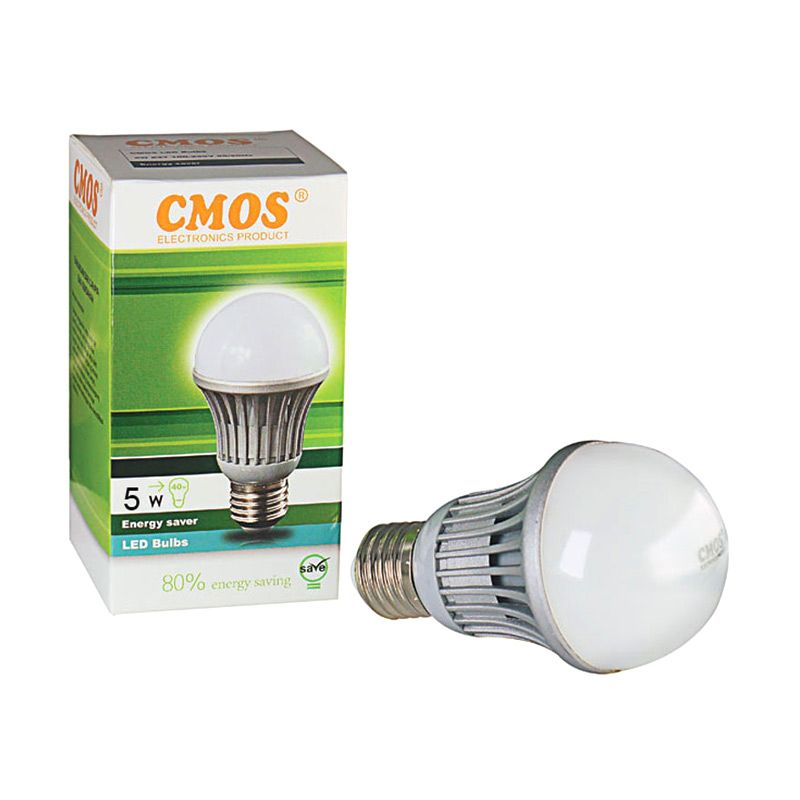 Cmos Bulb Gold Putih Lampu LED [5 Watt]