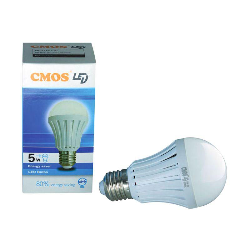 Cmos Bulb Silver Putih Lampu LED [5 Watt]